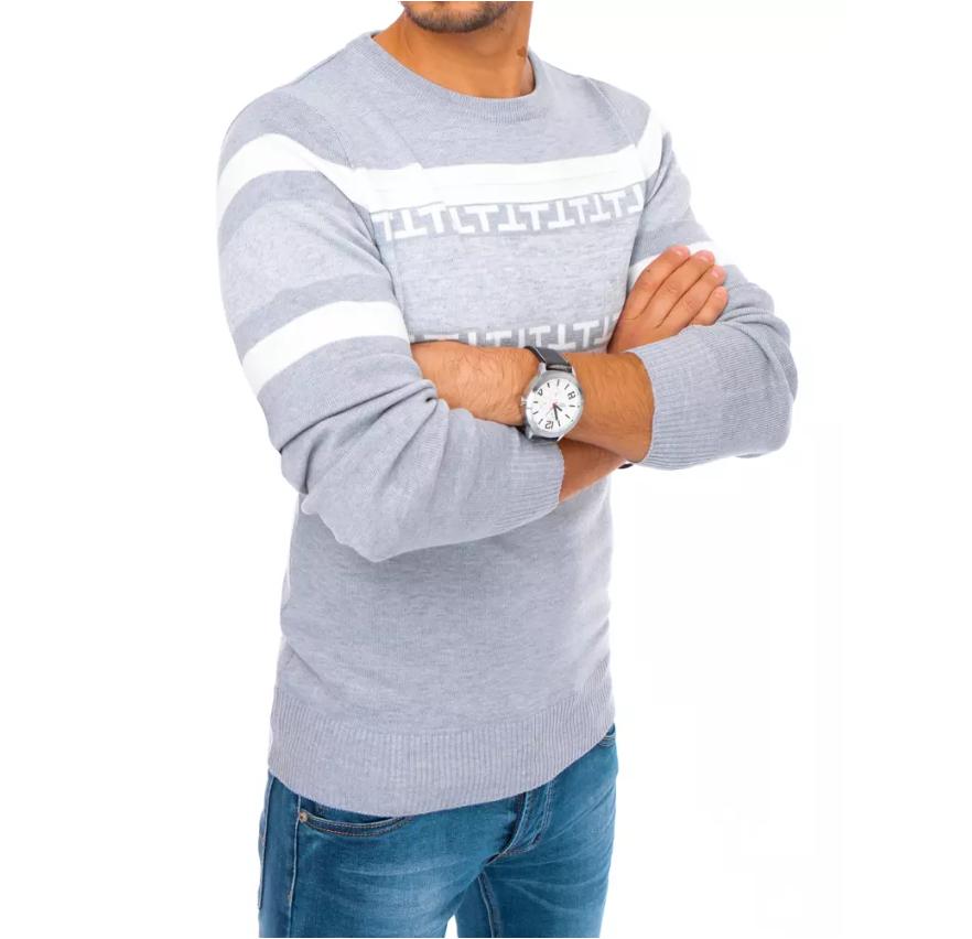 Nie tylko ciepłe, ale również modne i eleganckie swetry męskie